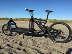 Bullitt Bike, Three Wheel Bicycle, Velo Cargo, Bike Components, Bike Trailer, Cruiser Bicycle, Tesla Motors, Fat Bike, Bike Frame