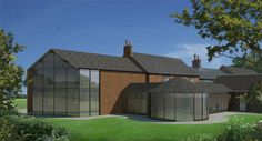 Barn conversion, refurbishment and extension of existing farmhouse in rural Leicestershire