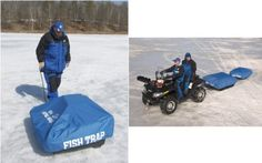 Clam Fish Trap Travel Cover 8073 for Ice Shelter * Continue to the product at the image link.