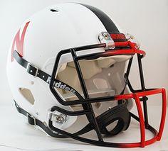 2013 NEW RELEASE Nebraska Cornhuskers Matte White Alternate Authentic Revolution Speed Full Size Helmet ORDER NOW