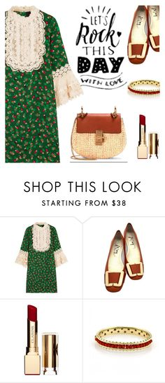 """""""BA138: Secret"""" by bugatti-veyron ❤ liked on Polyvore featuring Anna Sui, Salvatore Ferragamo, Clarins, H.Stern and vintage"""