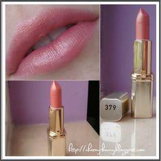 Swatch – L'Oréal Lipstick Colour Riche 379 Sensual Rose | charmybunnymakeup