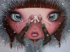 You'll Never Melt Again on Me - oil painting by borda on DeviantArt