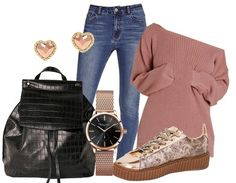 Touch of rose - Casual Outfits - stylefruits.co.uk