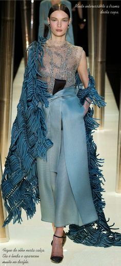 Tendência oriental na moda - Desfile haute couture Armani Privé 2015