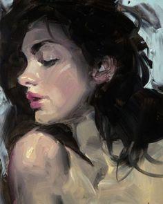 """Daily Paintworks - """"Bardo"""" - Original Fine Art for Sale - © John Larriva Art Painting, Fine Art, Art Drawings, Amazing Art, Painting, Woman Painting, Oil Painting, Portrait Painting, Portrait Art"""