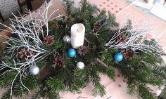 optymistycznie: Stroiki świąteczne na stół
