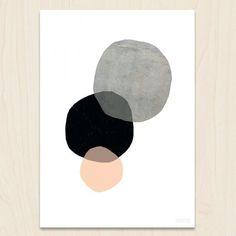 Seventy tree Print Circles
