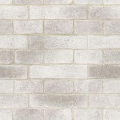 Papel de Parede Natural Bobinex Natural tijolo branco grande 1419 » Natural - Vinilizado Bobinex