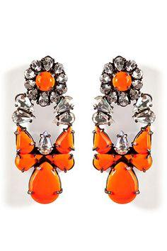 Daily Jewelry Inspiration: Shourouk Earrings « Jewelry « www.SansRetouches.com