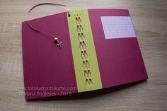 A5-Babytagebuch - Hearts - Mädchen von Fotokartenträume auf DaWanda.com