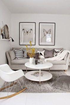 Inspiración para decorar salones pequeños