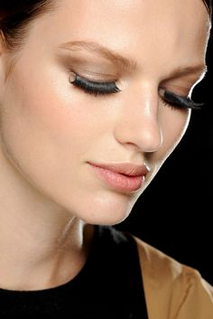 Gucci Spring 2013 Ready-to-Wear Fashion Show Beauty - Bette Franke.
