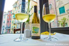 Cinque Terre Wine in Riomaggiore, Italy