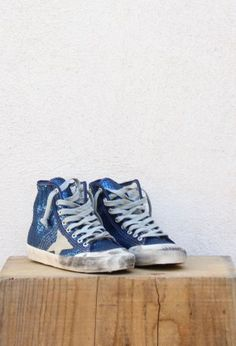 GGDB - Francy - Bleu - golden goose