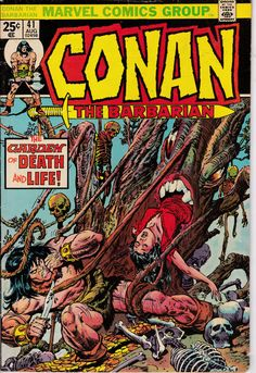 Conan The Barbarian 41 August 1974 Issue  Marvel by ViewObscura