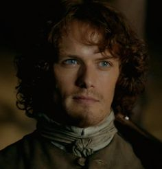 Sam Heughan as Jamie Fraser on Outlander
