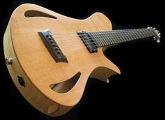 Martin Keith Guitars Elfin Hollowbody