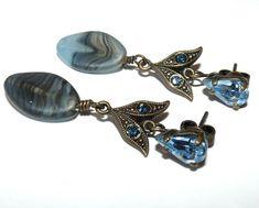Wunderschöner Ohrstecker von KONPLOTT / blau /Top ! Ebay, Blue Tops, Stud Earring, Nice Asses