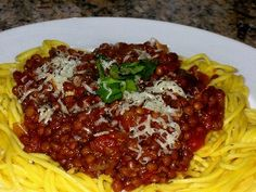 Netmums' most popular recipes Lentil spag bol Cooking For A Crowd, Cooking On A Budget, Budget Meals, Vegetarian Pasta Recipes, Healthy Recipes, Savoury Recipes, Frugal Recipes, Raw Recipes, Recipies