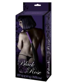 Black rose whipping willow flogger in Doc Johnsons Black Rose