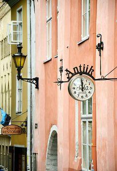 Estonia, lovely pastel coloured buildings #colourfulestonia #visitestonia
