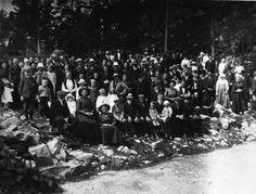 Lokalhistorisk biletsamling i Tysnes: Dei store misjonsstemna