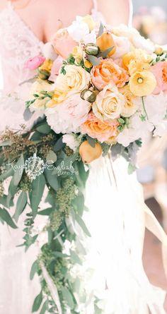 Ashford Estate Rainbow bouquet photographed by Kay English Photography www.kayenglishphotography.com