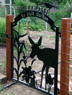 Iron Age Arts - Garden Gates - Trendings Pin Home Metal Garden Gates, Metal Gates, Metal Sculpture Wall Art, Metal Wall Art, Iron Age, Metal Art Projects, Welding Projects, Garden Projects, Garden Ideas