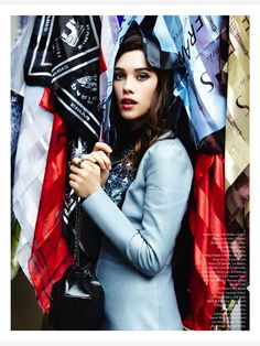 Astrid Bergès-Frisbey featured in Be magazine (2014)