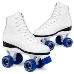 these are present day roller skates. roller skates originated during the end of the edwardian period, however during that time, roller skates looked like full miniature bicycles on each foot, and now they have evolved for easier use for people. Quad Roller Skates, Roller Rink, Roller Derby, Roller Skating, Skating Rink, Canadian Things, Skate Party, Nursing Shoes, My Childhood Memories