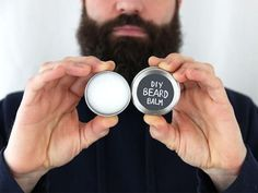 By Ellen Foord, DIY Network's Made + Remade Photo by Ellen Foord, DIY Network If you'd asked me a few years ago if I would, at any point in my life, be making DIY Beard Balm, I would have laughed at you. We had some small metal containers, but you could also make a double batch and use a 4 oz.