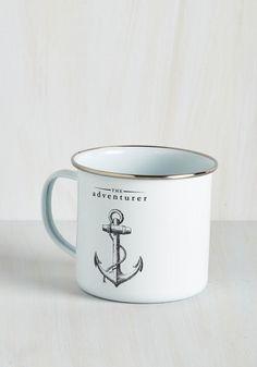 Anchor the Call Mug - Nautical, Good, White, Black, Novelty Print, Guys, Spring, Top Rated, Gifts2015