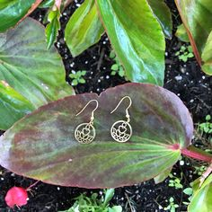 Pendant Earrings, Gold Pendant, Gold Earrings, Belly Button Rings, Flowers, Inspiration, Color, Beautiful, Collection