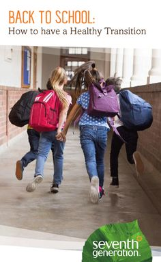 Many of us have a love/hate relationship with back to school. Younger children may look forward to going to school for the first time, older children are excited to reconnect with friends, and, as parents, we hope to make the transition as positive as possible for all of us! Here are a few simple rules-of-thumb to help manage that transition and stay healthy doing it: