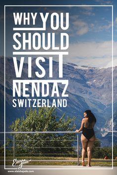 Elaisha Goes.To Nendaz Switzerland: Photo story & City Guide — Elaisha Jade Saas Fee, I Say Goodbye, Travel Flights, Zermatt, Photo Story, Change My Life, Train Station, Switzerland, Vacations