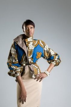 9jafrikfashion: Ankara Jackets