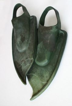 1950's diving fins  vintage scuba by ReFunked on Etsy, $24.00