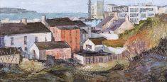 "Peter Monaghan ""Ramore, Portrush"" Oil on canvas, 20"" x 30"" Irish Landscape, List Of Artists, Impressionist, Landscape Paintings, Oil On Canvas, Colours, Sculpture, Gallery, Artwork"