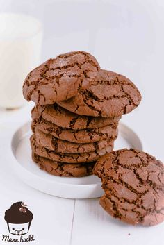 Chocolate Cookies – American Style [What else? Macarons, Donuts, Eat Dessert First, Chocolate Cookies, American, Desserts, Food, Advent, Style