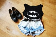 batman clothes girls