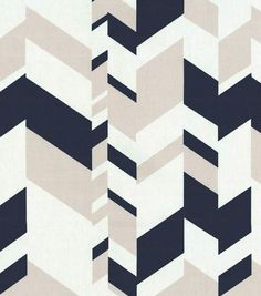 Nate Berkus Home Decor Print Fabric- Forde Paramount Moonstone
