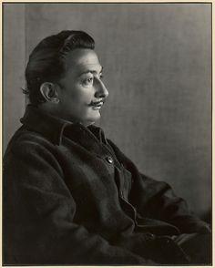 Salvador Dali, Carmel / Johan Hagemeyer/ 1944 / Gelatin silver print