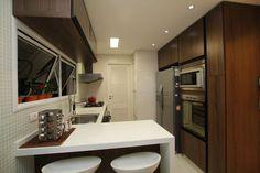 Construindo Minha Casa Clean: 25 Cozinhas com Bancadas para Refeições Rápidas!