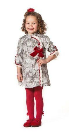 Prendas de la colección de otoño-invierno 2013. Disponibles en paraisobebe.com jesusito, vestido, niña, bebé, verano, primavera