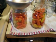 Sweet Pickled Carrots
