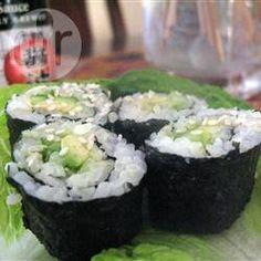 Rolls de Sushi Fáciles