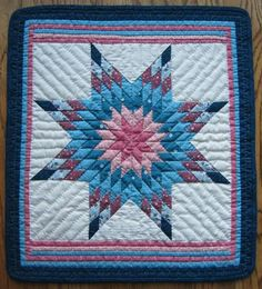 Lone Star Miniature Quilt