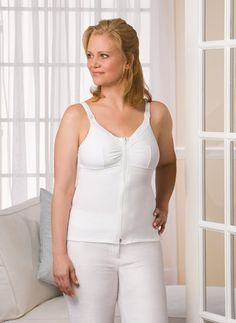 5abb47addb09e Check out the deal on Amoena Zip Front Surgery Cami ( XS M L XL) at Park Mastectomy  Bras Mastectomy Breast Forms Swimwear