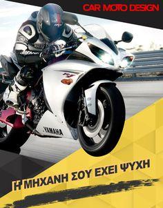 Η μηχανή🏍 σου έχει ψυχή!  Δωσ' της ο,τι χρειάζεται!  ☎️ 2315534103 📱6978976591 ➡️ ΠΟΛΥΤΕΧΝΙΟΥ 18 ΕΥΚΑΡΠΙΑ ΘΕΣΣΑΛΟΝΙΚΗΣ  #carmotodesign #οικαλύτερεςτιμές #οτιαναζητάς #θατοβρείςεδώ #becarmotodesigner Yamaha, Motorcycle, Vehicles, Car, Automobile, Motorcycles, Motorbikes, Autos, Cars